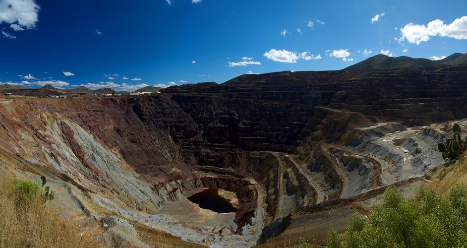 Lavender Pit Copper Mine (Bisbee, AZ)