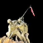 Iwo Jima memorial.