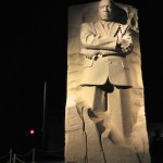 The Martin Luther King, Jr. memorial.