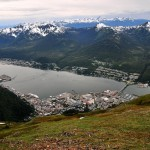 Juneau from 3,576 Feet