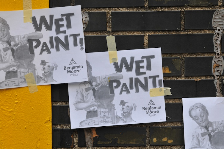 Wet Paint!