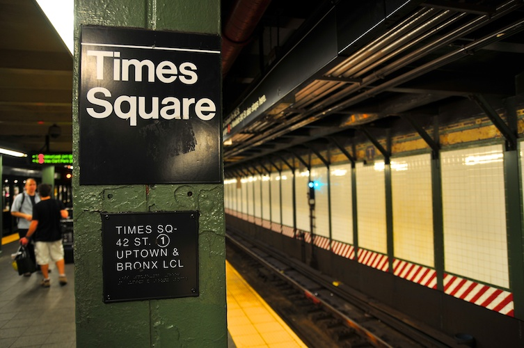 Times Square Stop