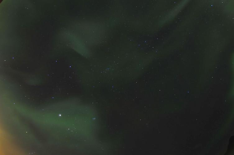 Aurora Sky Painting