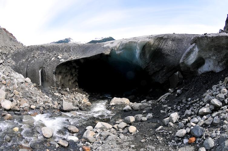 Glacier Cave Entrance