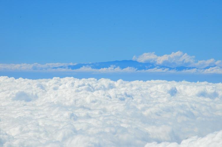 Maui from 14,000 Feet